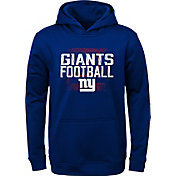 NFL Team Apparel Youth New York Giants Attitude Pullover Hoodie