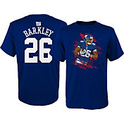 NFL Team Apparel Youth New York Giants Saquon Barkley #26 Image Royal T-Shirt