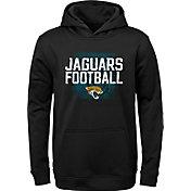 NFL Team Apparel Youth Jacksonville Jaguars Attitude Pullover Hoodie