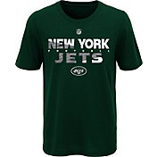 NFL Team Apparel Youth New York Jets Flux Ultra Green T-Shirt