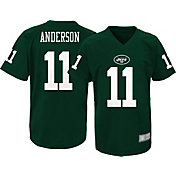 NFL Team Apparel Youth New York Jets Robby Anderson #11 Green Performance T-Shirt