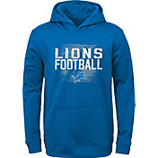 NFL Team Apparel Youth Detroit Lions Attitude Pullover Hoodie