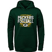 NFL Team Apparel Youth Green Bay Packers Attitude Pullover Hoodie