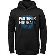 NFL Team Apparel Youth Carolina Panthers Attitude Pullover Hoodie
