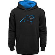 d5b56cb78 Product Image · NFL Team Apparel Youth Carolina Panthers Prime Black Pullover  Hoodie