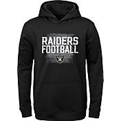 NFL Team Apparel Youth Oakland Raiders Attitude Pullover Hoodie