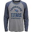NFL Team Apparel Youth Tennessee Titans Gridiron Grey Long Sleeve Shirt