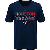 NFL Team Apparel Youth Houston Texans Flux Ultra Navy T-Shirt