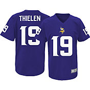 NFL Team Apparel Youth Minnesota Vikings Adam Thielen #19 Purple Performance T-Shirt
