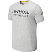 New Balance Men's Liverpool FC Travel Graphic Heather Grey T-Shirt