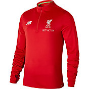 New Balance Men's Liverpool Red Quarter-Zip Pullover