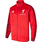 New Balance Men's Liverpool Red Full-Zip Jacket