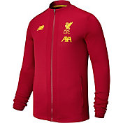 New Balance Men's Liverpool Game Red Full-Zip Jacket