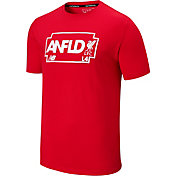 New Balance Men's Liverpool Road Sign ANFLD Red T-Shirt