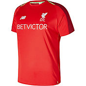 New Balance Men's Liverpool Training Red Shirt