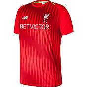 New Balance Men's Liverpool Pre-Match Red Shirt