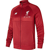 New Balance Men's Liverpool Walkout Red Full-Zip Jacket