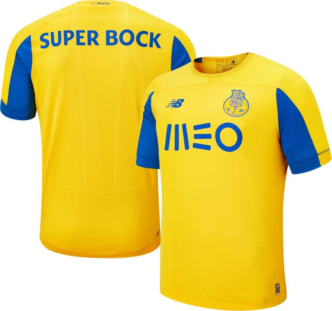 watch e3f1c a502e New Balance Men's FC Porto '19 Stadium Away Replica Jersey
