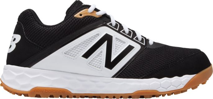 new balance men's 4040 v3 metal baseball cleats white and gold