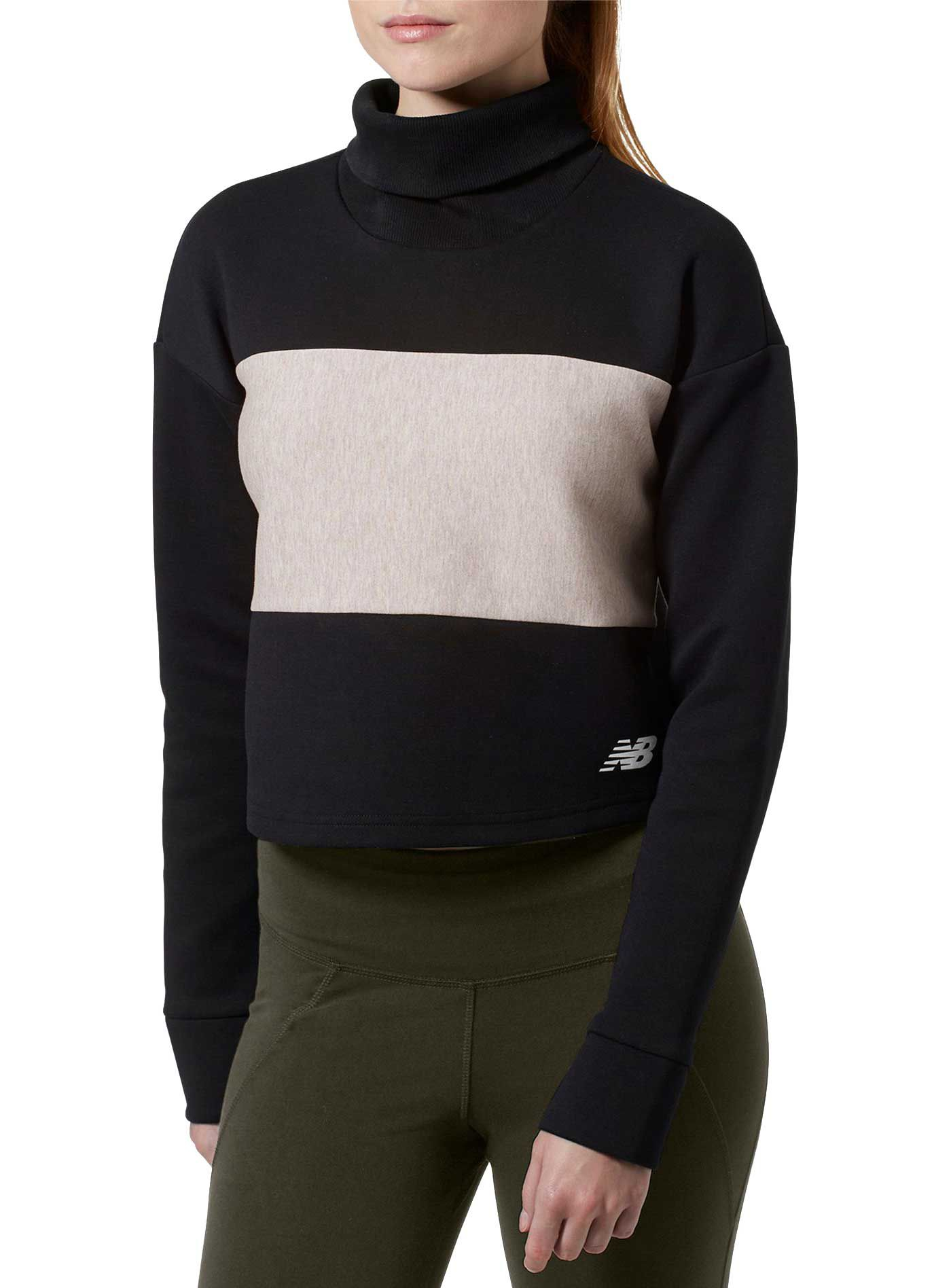 New Balance Women's 247 Sport Cropped Pullover