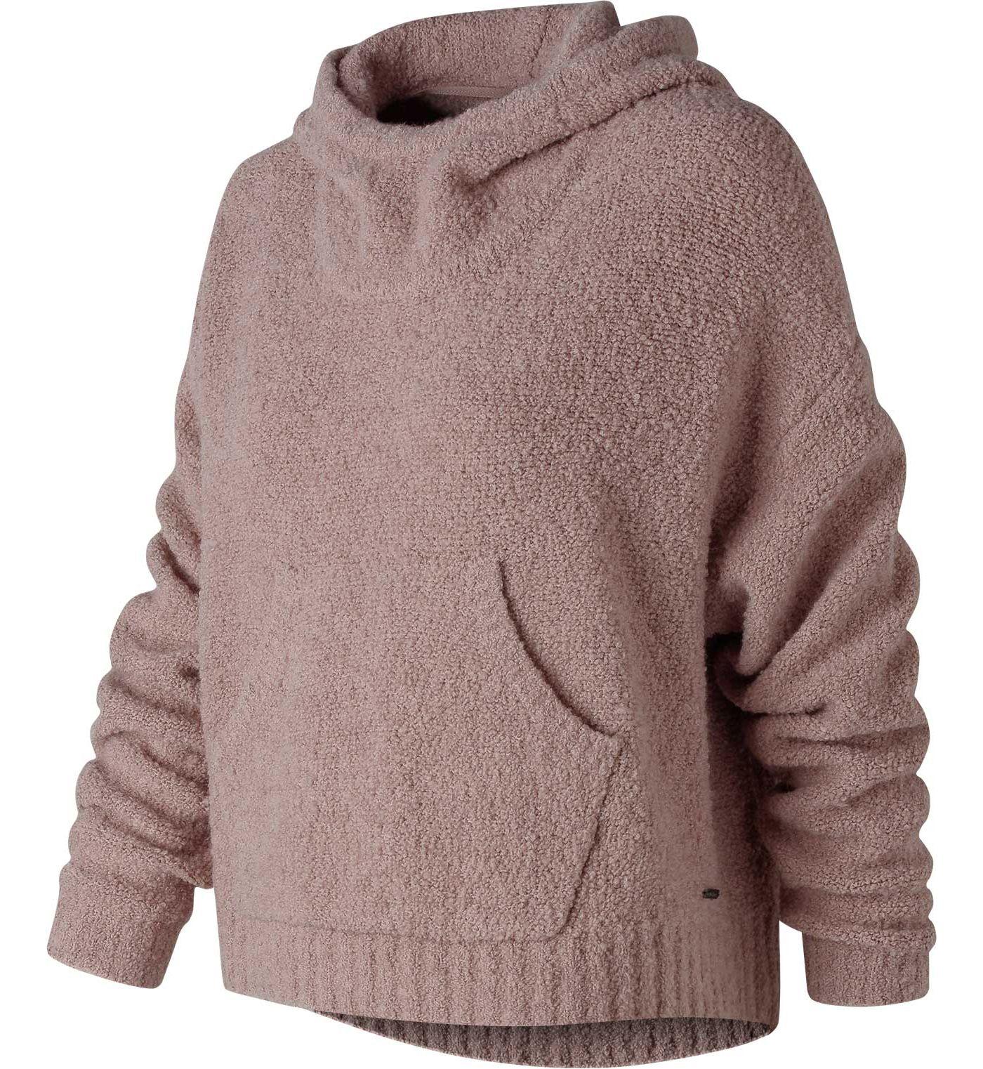 New Balance Women's Boucle Cozy Crop Hoodie