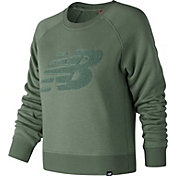 New Balance Women's Chenille Brushed Crew Pullover