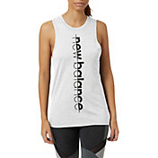 New Balance Women's Graphic Heathertech Train Tank Top