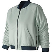 New Balance Women's Heat Loft Reversible Bomber Jacket