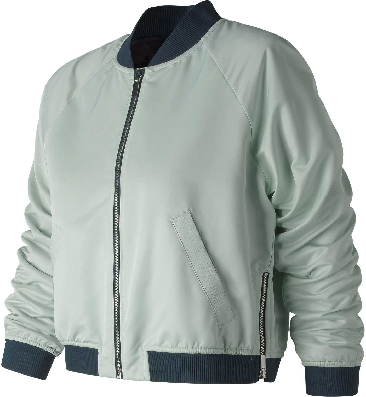 New Balance Women's Heat Loft Reversible Bomber Jacket