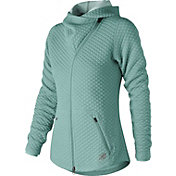 New Balance Women's Heat Loft Asymmetrical Full-Zip Jacket