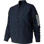 New Balance Women's 247 Luxe Sateen Bomber Jacket