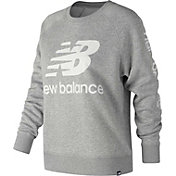 New Balance Women's Essentials Logo Crew Pullover