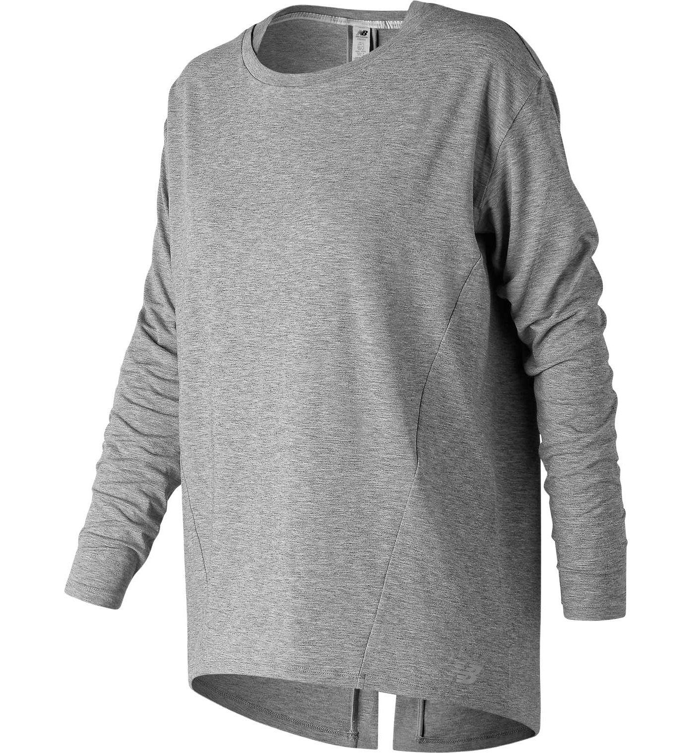 New Balance Women's Studio Relaxed Long Sleeve Shirt