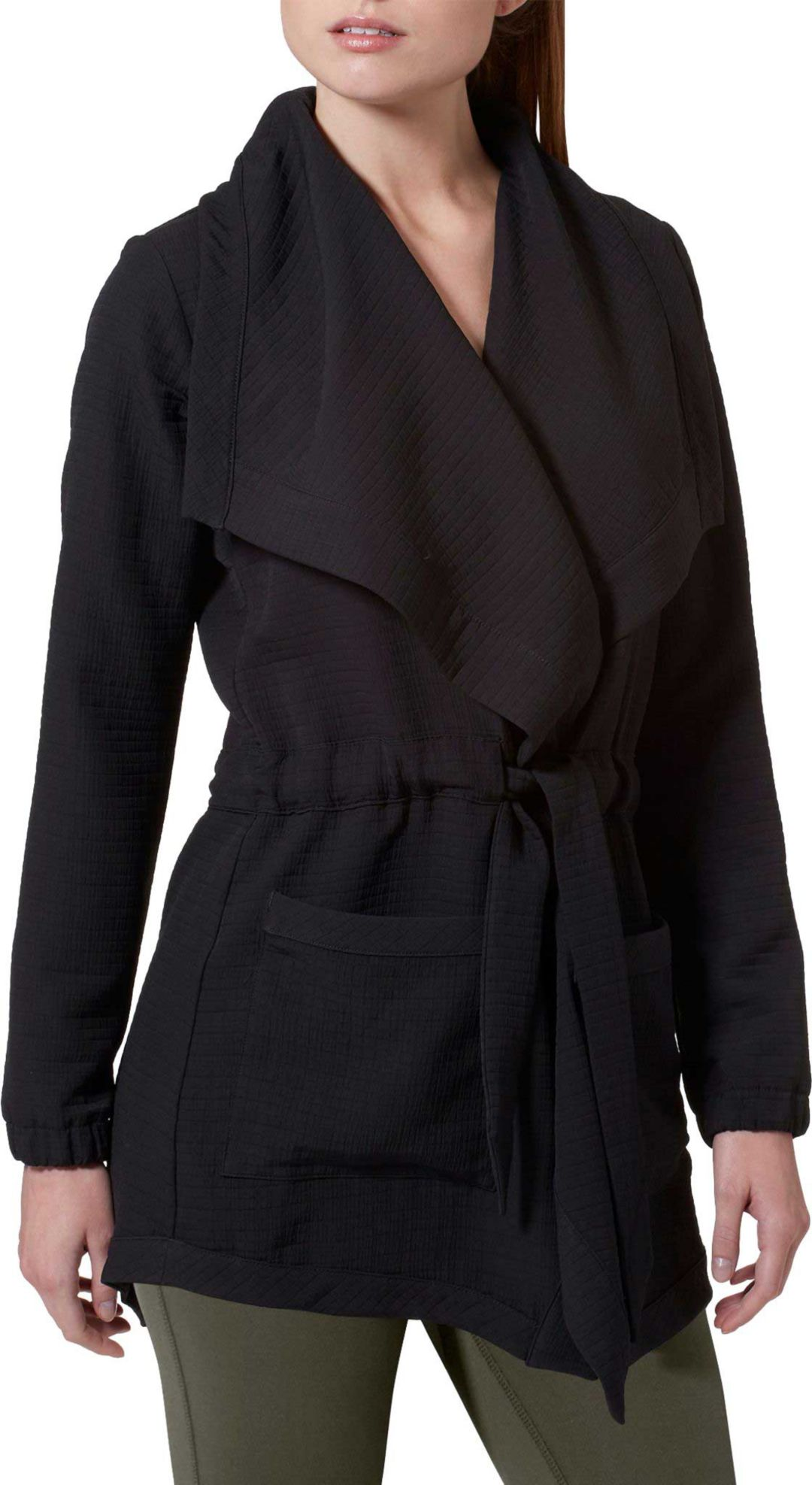 eaeacfe9 New Balance Women's Studio Tie Waist Jacket
