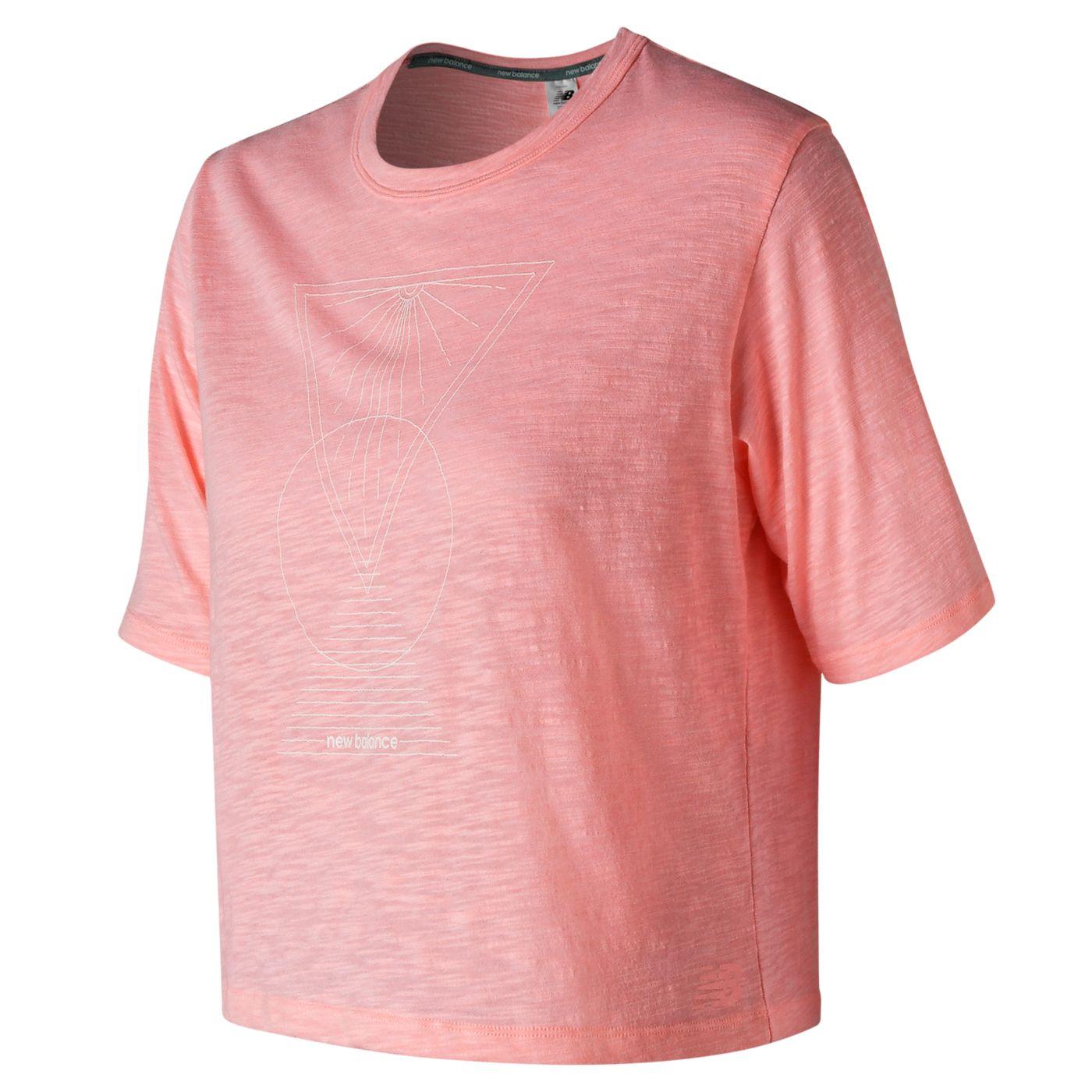 New Balance Women's Well Being Cropped T-Shirt