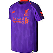 New Balance Youth Liverpool 2018 Stadium Away Purple Replica Jersey
