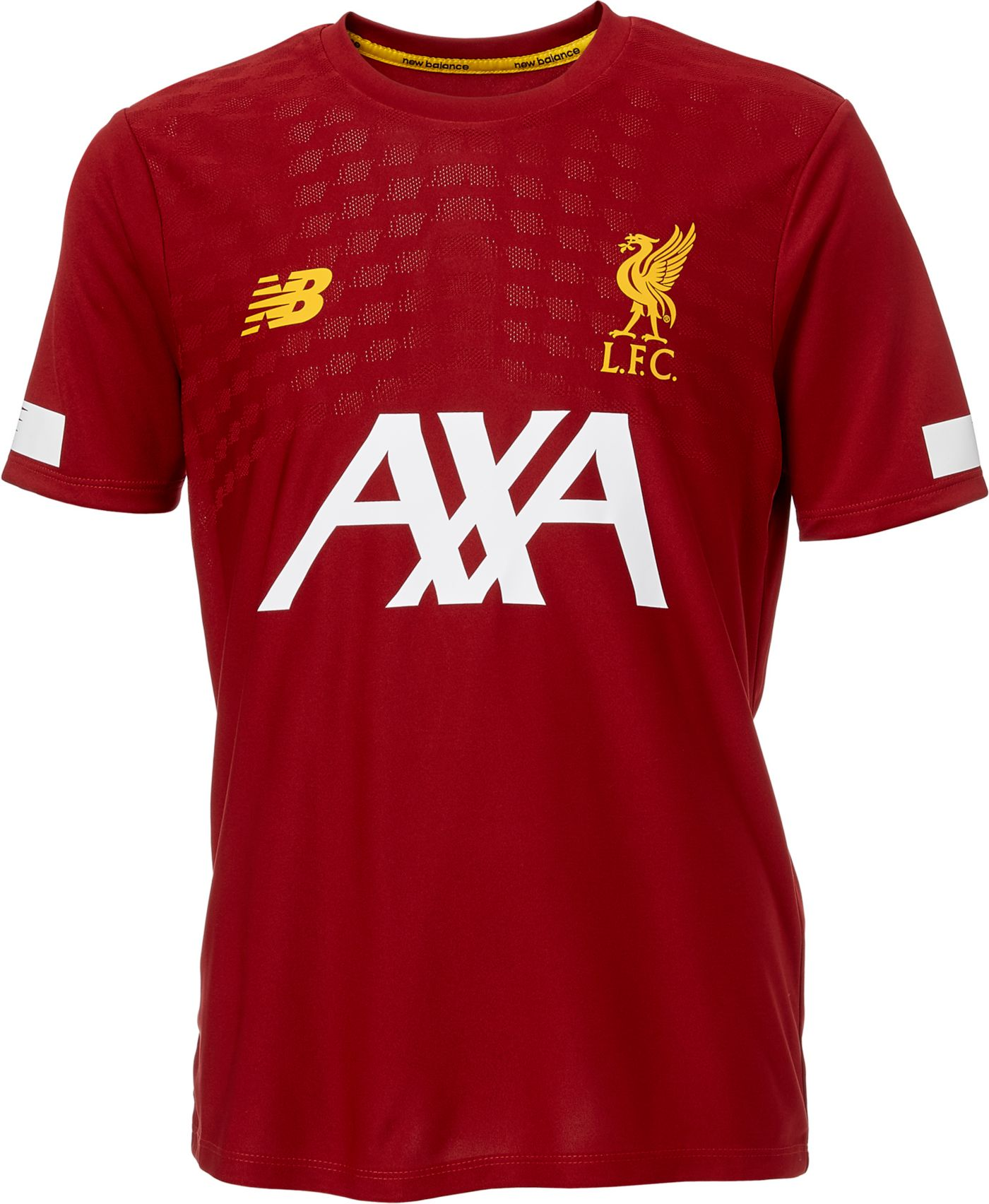 New Balance Youth Liverpool Prematch Red Shirt