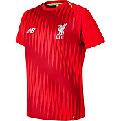 New Balance Youth Liverpool Pre-Match Red Shirt