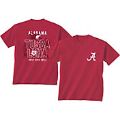 New World Graphics Men's Alabama Crimson Tide Crimson 'Tuscaloha' T-Shirt