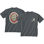 New World Graphics Men's Alabama Crimson Tide Grey Tradition T-Shirt