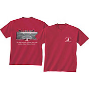 New World Graphics Men's Alabama Crimson Tide Crimson Stadium T-Shirt