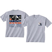 New World Graphics Men's Auburn Tigers Grey 2018 Football Schedule T-Shirt
