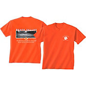 New World Graphics Men's Clemson Tigers Orange Stadium T-Shirt