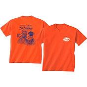 New World Graphics Men's Florida Gators Orange Tailgate T-Shirt