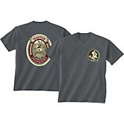 New World Graphics Men's Florida State Seminoles Grey Tradition T-Shirt