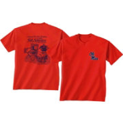 New World Graphics Men's Ole Miss Rebels Red Tailgate T-Shirt