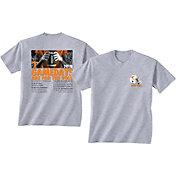 New World Graphics Men's Tennessee Volunteers Grey 2018 Football Schedule T-Shirt
