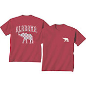 New World Graphics Women's Alabama Crimson Tide Crimson Elephant T-Shirt