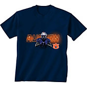 New World Graphics Youth Auburn Tigers Player Blue T-Shirt