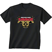New World Graphics Men's Georgia Bulldogs 'Savage' Football Black T-Shirt